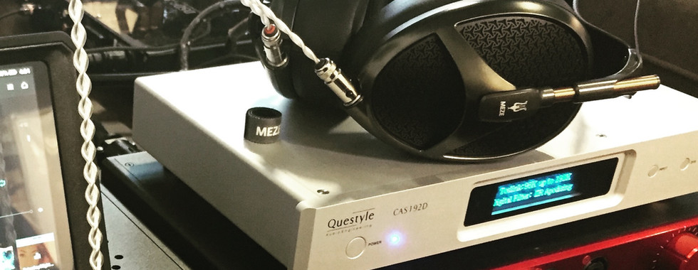 Meze Headphones with Questyle and HeadAmp at The Audio Video Boutique