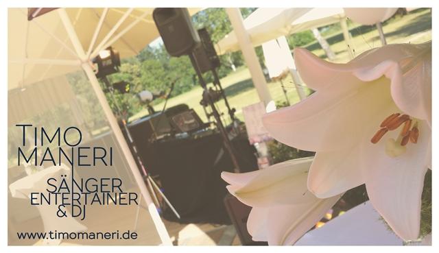 Timo Maneri Bühnensituation Hochzeit