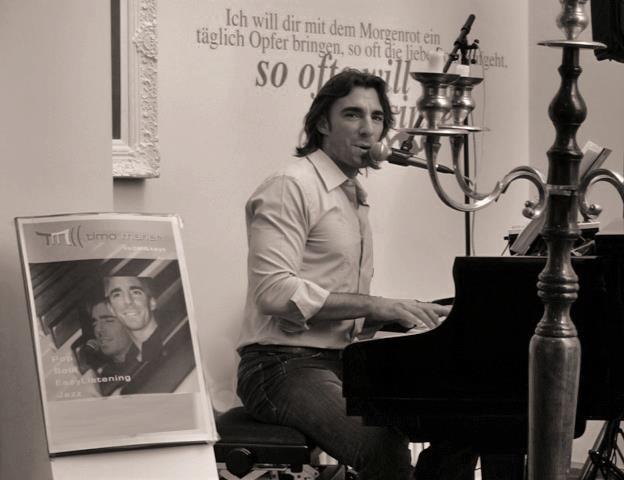 Live Musik Vernissage Maneri