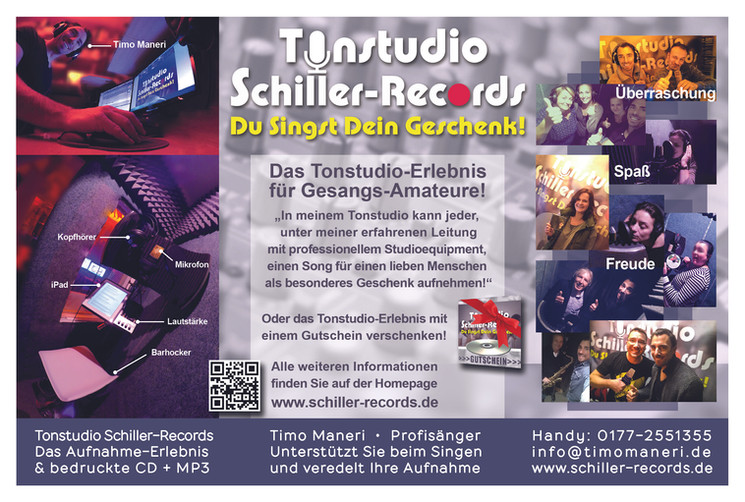 Tonstudio Schiller-Records bei Timo Maneri