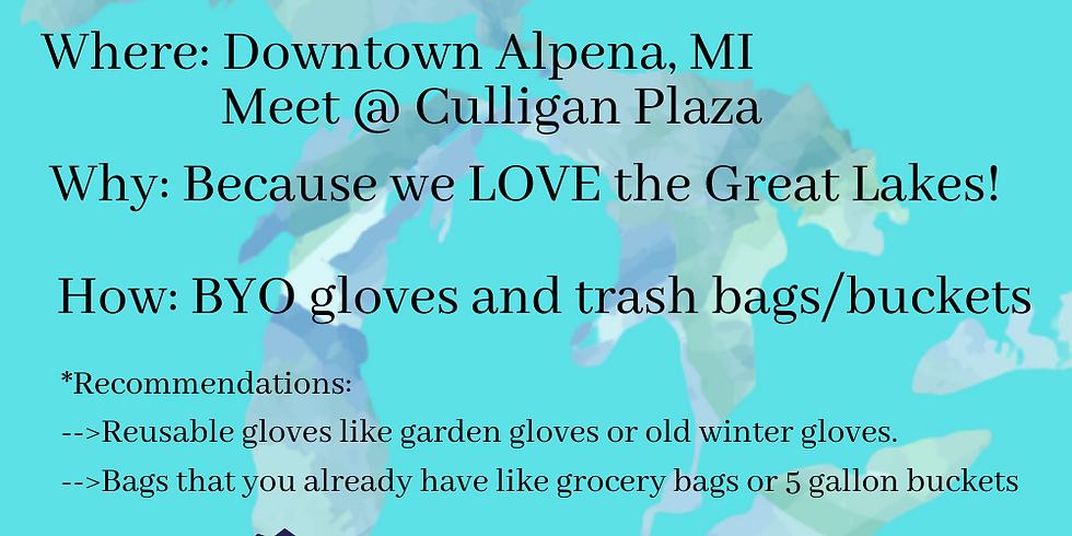 Flash Trash Cleanup: Downtown Alpena