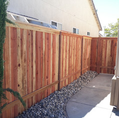 Cap and Trim - with Pressure Treated Post