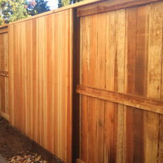 Cap and Flat Top- with Pressure Treated Post