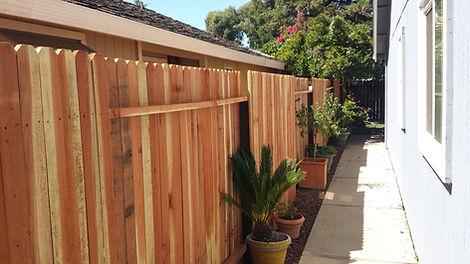 Wood-Fence-Dog-Ear-residential wood fenc