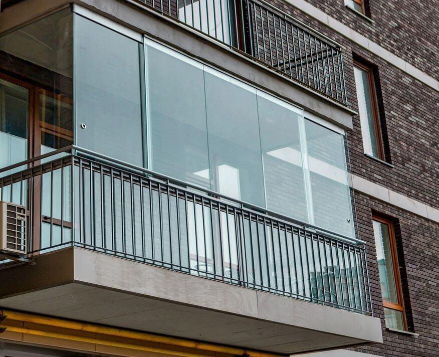 осткление балконов