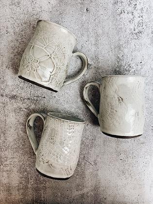 white wash mug