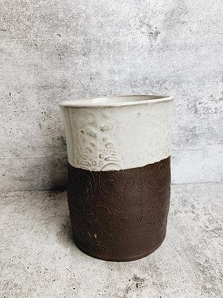 rooster utensil holder/vase