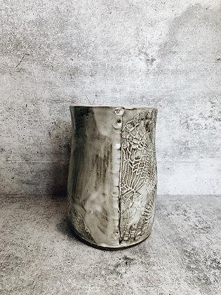 large white wash vase