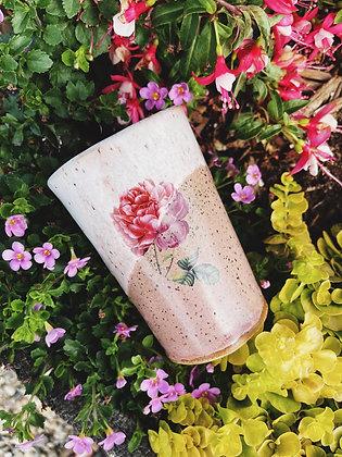 rose tumbler /vase