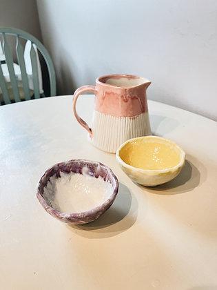 ice cream mini bowl set - seconds