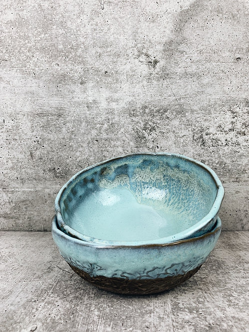 glacier poppy bowl