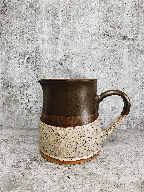 cowhide water pitcher