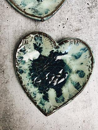 louise heart dish