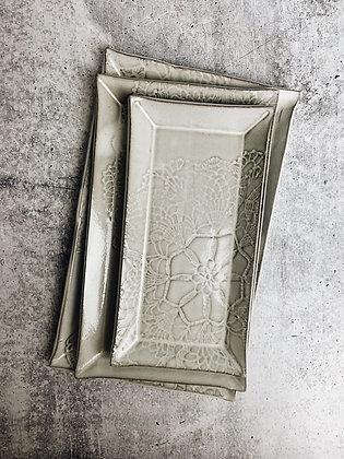 lace platter set