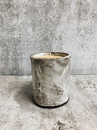 white wash candle
