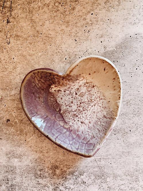 Lavender mist heart
