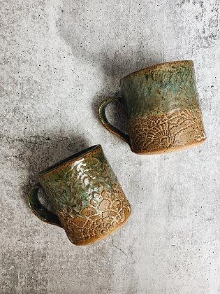 savanna breeze lace mug