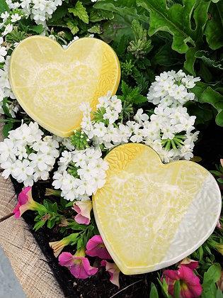 sunshine daisy heart