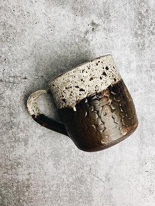 cowhide coffee bean mug