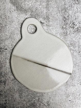 white strip charcuterie board