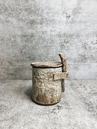 birch salt cellar