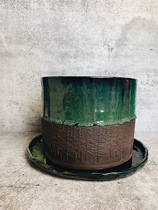 large northern lights planter