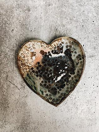 daisy heart dish