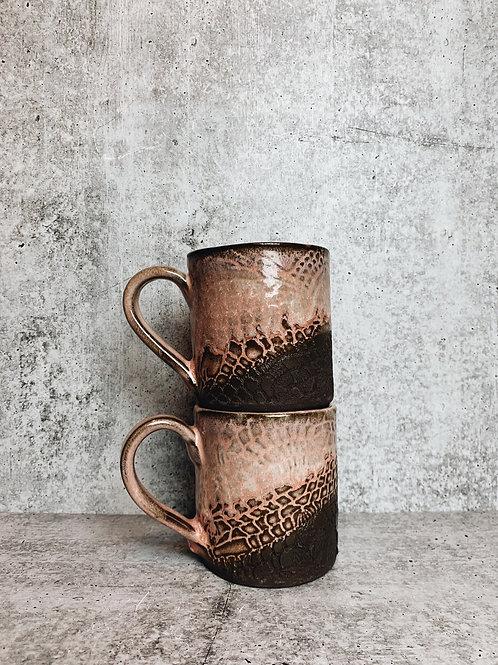 pretty in pink mugs