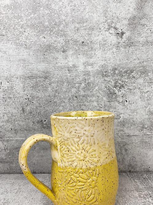 sunshine daisy large  mug
