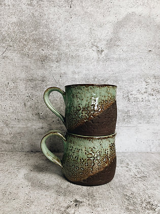 mint chip coffee bean mug