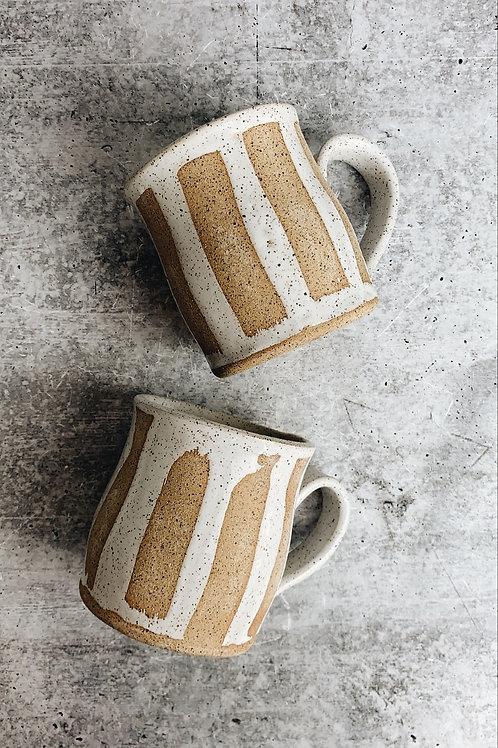 speckle strip mug