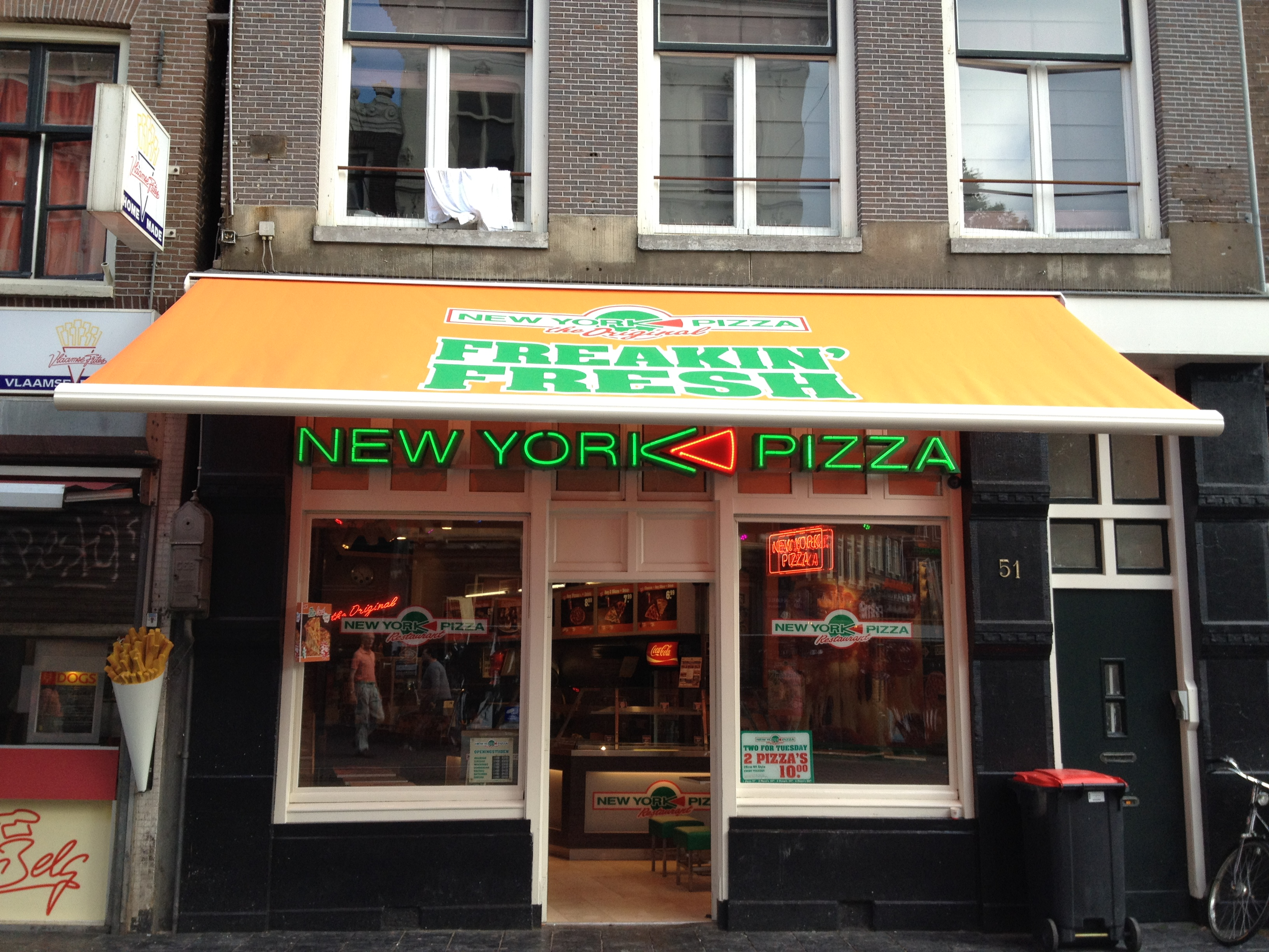 New York Pizza Amsterdam