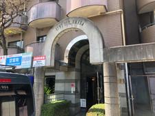 パーソナルトレーニングLOL中崎町の連携ジムのマンションの入り口