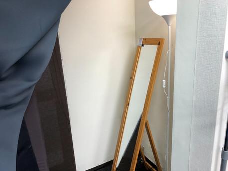 パーソナルトレーニングLOL京橋の連携ジムの更衣室