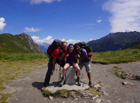 """Kids in the Canyon"" take on the Tour du Mont Blanc & Alta Via 1"