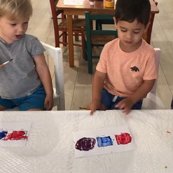 Today we had fun with jellO!! Using jell
