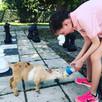 Bottle feeding our baby goat 🐐 ❤️ #anim