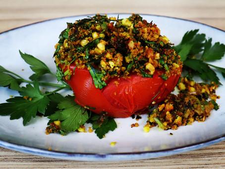 Mandel-Ofen-Tomaten