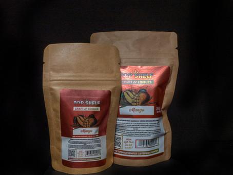 MANGO DELTA 8 EDIBLES - Top Shelf Hemp Co. Product Profile