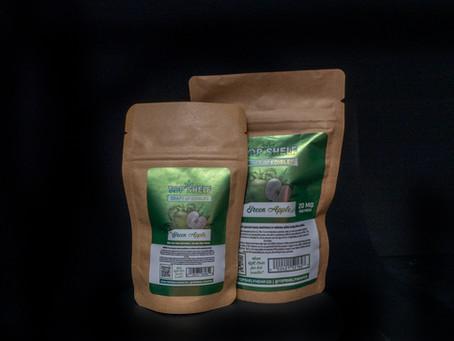 GREEN APPLE DELTA 8 EDIBLES - Top Shelf Hemp Co. Product Profile