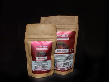 WILD BERRY DELTA 8 EDIBLES - Top Shelf Hemp Co. Product Profile