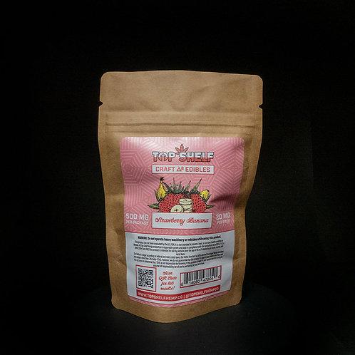 Delta 8 Craft Edible 500mg - Strawberry Banana