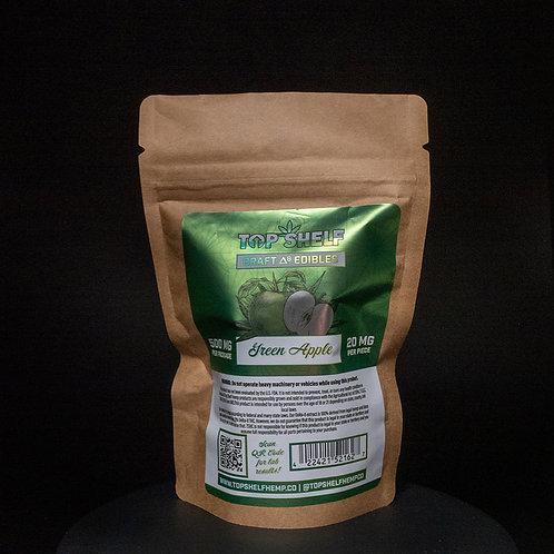 Delta 8 Craft Edible 500mg - Green Apple
