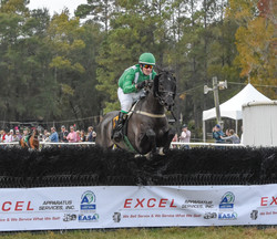 Alex Leventhal and L'Aigle Royal over th