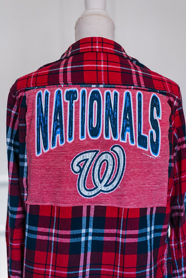 NATIONALS FLANNEL