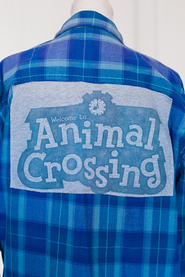 ANIMAL CROSSING FLANNEL