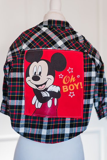 YOUTH MICKEY FLANNEL
