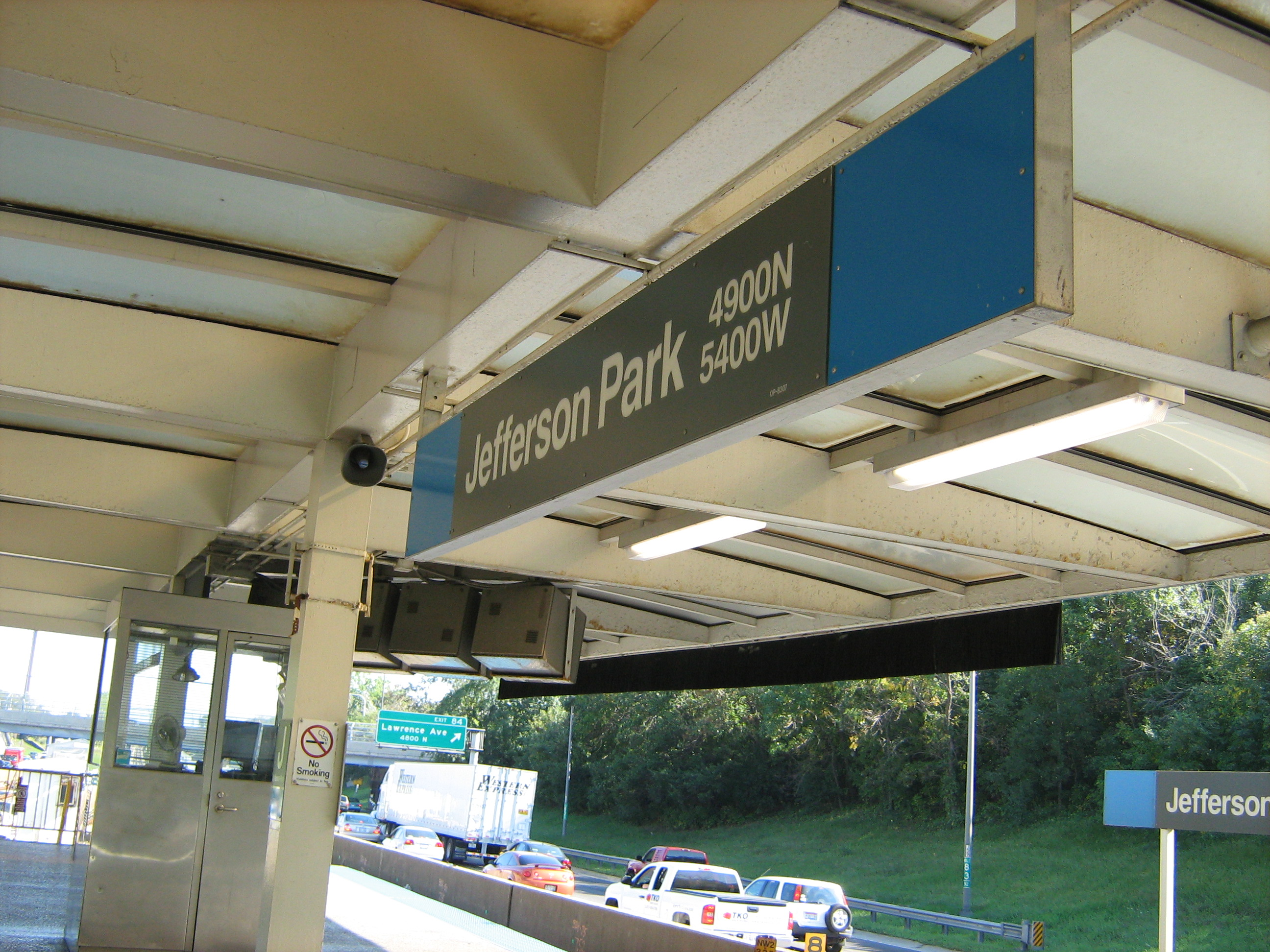 Jefferson Park Blue Line Station