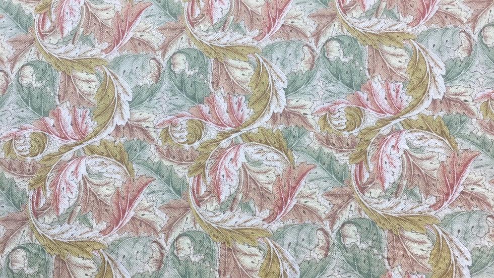 100% Cotton Acanthus #7304