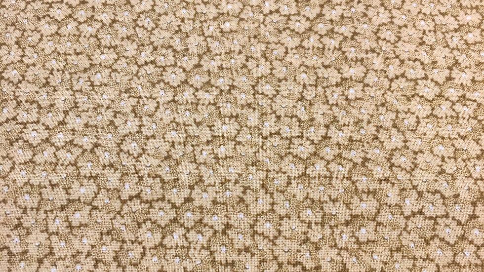 100% Cotton Little House Floral
